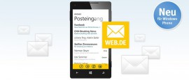 WEB.DE Mail App für Windows Phone