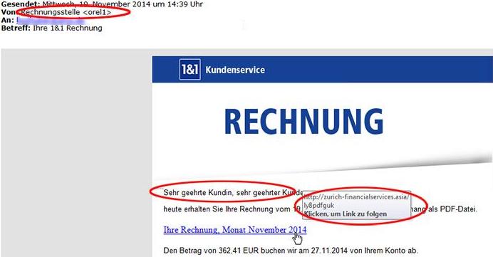 Spam E Mails Verbreiten Computerviren
