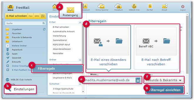 Posteingang Web De